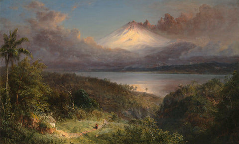 View of Cotopaxi, 1867 -  Frederic Edwin Church - McGaw Graphics
