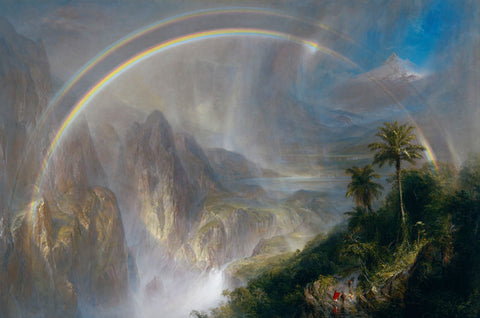 Frederic Edwin Church - Rainy Season in the Tropics, 1866