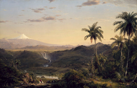 Cotopaxi, 1855 -  Frederic Edwin Church - McGaw Graphics