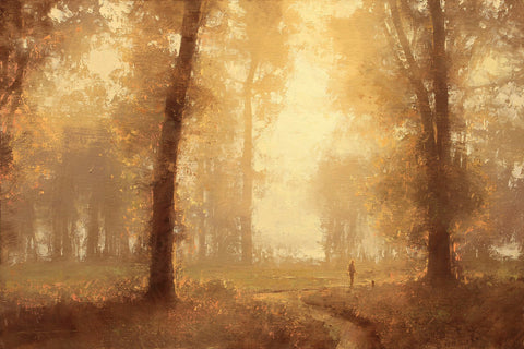 Autumn Stroll -  Brent Cotton - McGaw Graphics