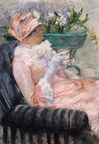 Mary Cassatt - The Cup of Tea, ca. 1880-81