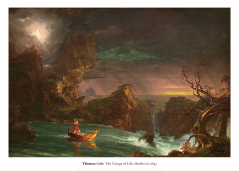 The Voyage of Life: Manhood, 1842 -  Thomas Cole - McGaw Graphics