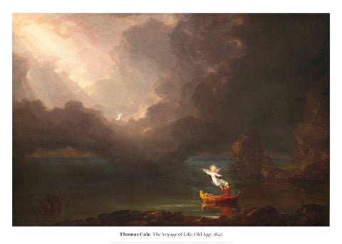 The Voyage of Life: Old Age, 1842 -  Thomas Cole - McGaw Graphics