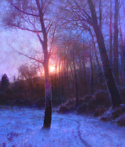 Winter Silence -  Brent Cotton - McGaw Graphics