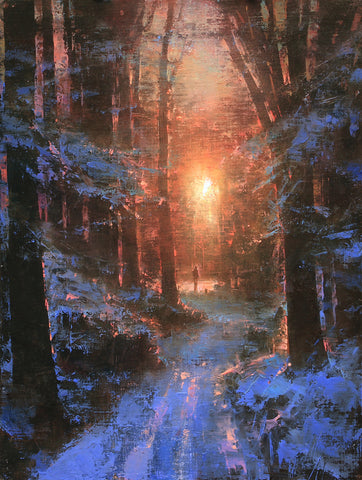 Winter's Embrace -  Brent Cotton - McGaw Graphics
