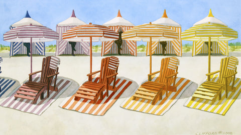 Cabana Beach -  Cory Clifford - McGaw Graphics