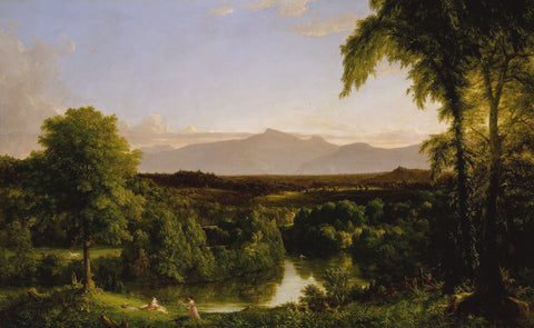 View on the Catskill—Early Autumn, 1836–37 -  Thomas Cole - McGaw Graphics