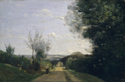The Environs of Paris, 1860s -  Jean-Baptiste Camille Corot - McGaw Graphics