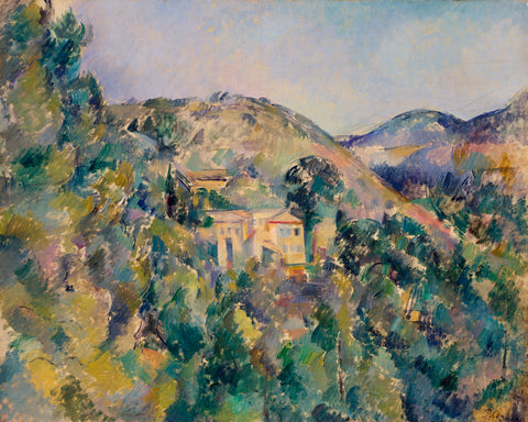 View of the Domaine Saint-Joseph, late 1880s -  Paul Cezanne - McGaw Graphics