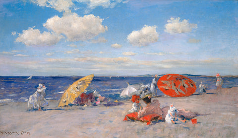 At the Seaside, ca. 1892 -  William Merritt Chase - McGaw Graphics