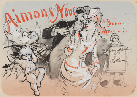 Aimons Nous, 1870-80 -  Jules Cheret - McGaw Graphics