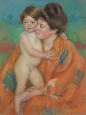 Woman with Baby, c. 1902