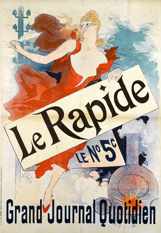 Le Rapide -  Jules Cheret - McGaw Graphics