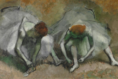 Edgar Degas - Frieze of Dancers (detail)