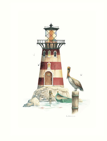Pelican Point Light -  Lisa Danielle - McGaw Graphics