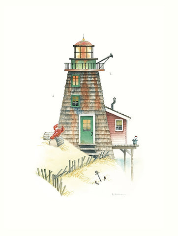 Lobster Bay Light -  Lisa Danielle - McGaw Graphics