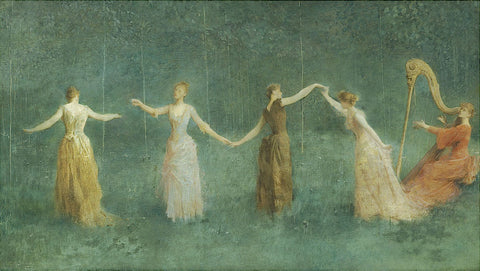 Thomas Wilmer Dewing - Summer, 1890