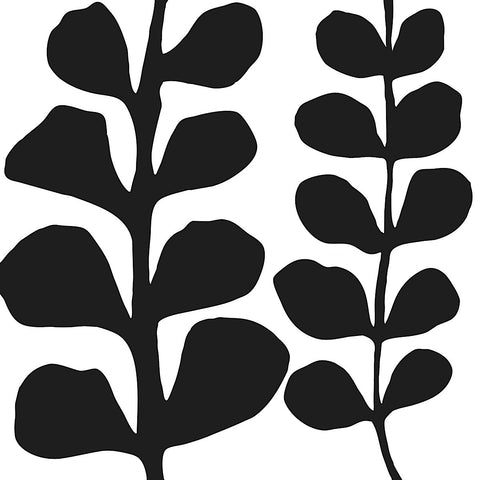 Maidenhair (black on white) -  Denise Duplock - McGaw Graphics