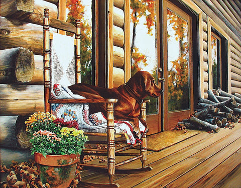 The Back Porch Rocker -  Linda Daniels - McGaw Graphics
