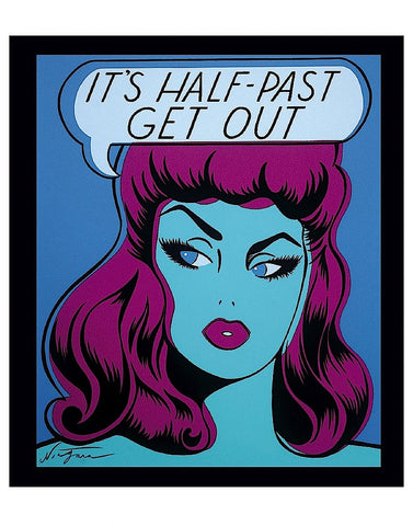 It's Half Past Get Out -  Niagara Detroit - McGaw Graphics