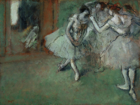 Edgar Degas - A Group of Dancers, 1890