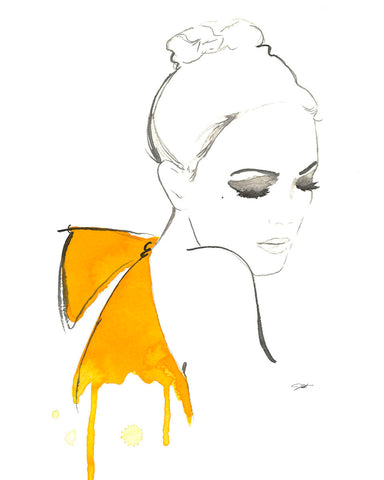 The Yellow Bow -  Jessica Durrant - McGaw Graphics