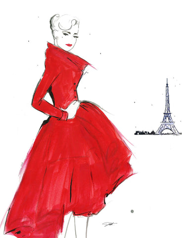 Dior and Paris -  Jessica Durrant - McGaw Graphics