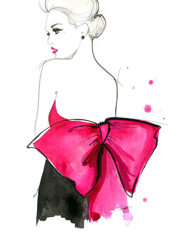 Pink Bow -  Jessica Durrant - McGaw Graphics