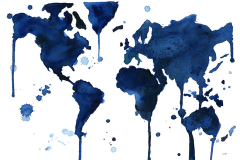 It's a Blue Blue World -  Jessica Durrant - McGaw Graphics