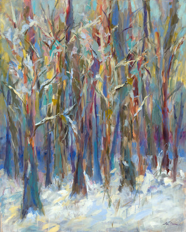 Amy Dixon - Winter Angels in the Aspen