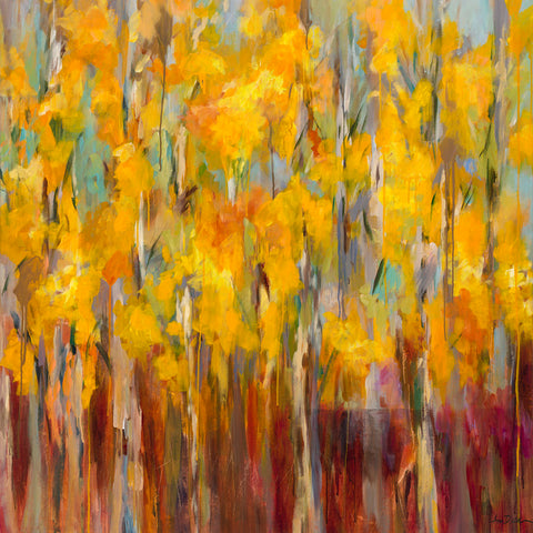 Amy Dixon - Golden Angels in the Aspens