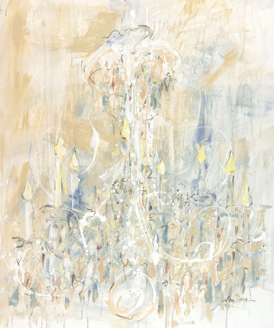 Shades of White Chandelier -  Amy Dixon - McGaw Graphics