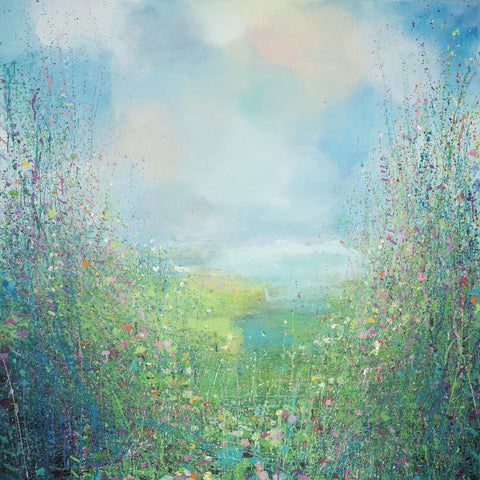 Flower Field -  Sandy Dooley - McGaw Graphics