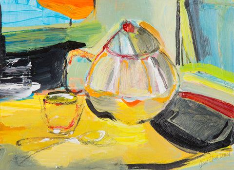 Joan Davis - Tea Tray