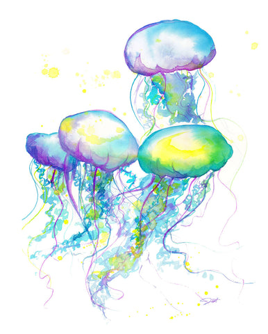 Herd of Jelly -  Jessica Durrant - McGaw Graphics