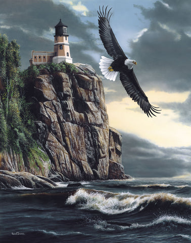 Lighthouse Cliff -  Kevin Daniel - McGaw Graphics