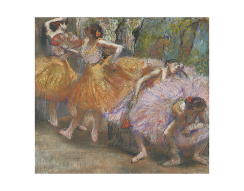 Dancers with Fans, c. 1898 -  Edgar Degas - McGaw Graphics