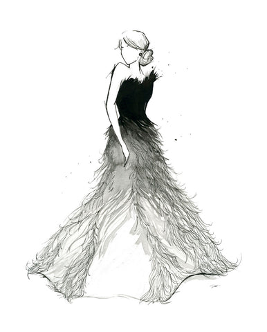 Fade to White Dress -  Jessica Durrant - McGaw Graphics
