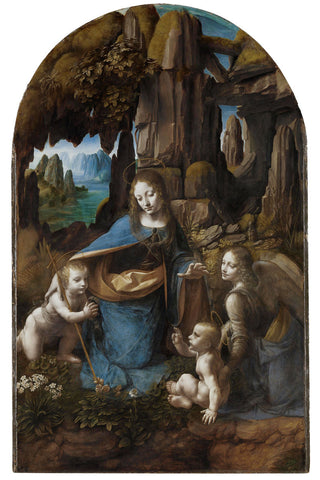 Leonardo da Vinci - Virgin of the Rocks, 1503-1506