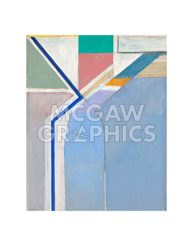 Ocean Park No. 24, 1969 -  Richard Diebenkorn - McGaw Graphics