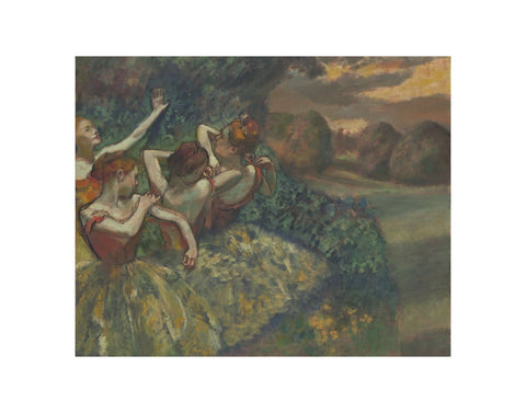 Four Dancers, c. 1899 -  Edgar Degas - McGaw Graphics