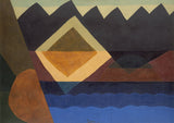 Square on the Pond, 1942 -  Arthur Dove - McGaw Graphics