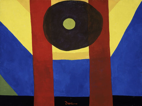 That Red One, 1944 -  Arthur Dove - McGaw Graphics
