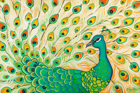 Pretty Pretty Peacock -  Peggy Davis - McGaw Graphics