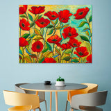 Poppy Garden -  Peggy Davis - McGaw Graphics