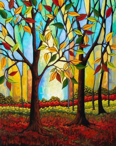 Peggy Davis - Tree Color Change