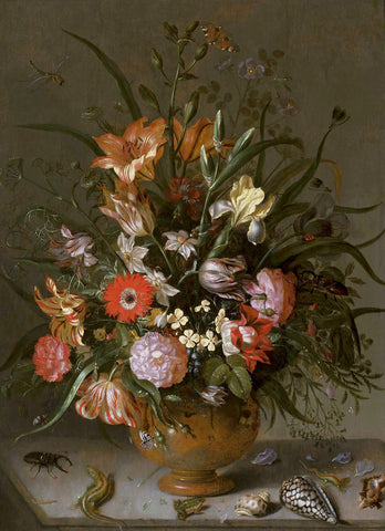 Jacob Marrel, Flowers in a vase -  Dutch Florals - McGaw Graphics