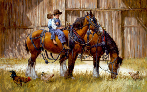 Back to the Barn -  Jim Daly - McGaw Graphics