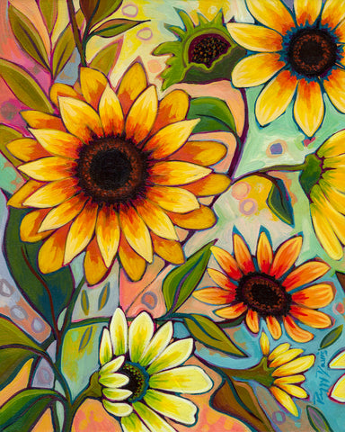Peggy Davis - Sunflower Power I