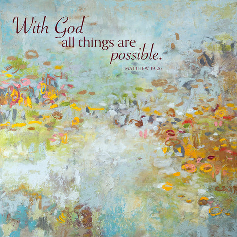 Angelic (With God all things are possible) -  Amy Donaldson - McGaw Graphics